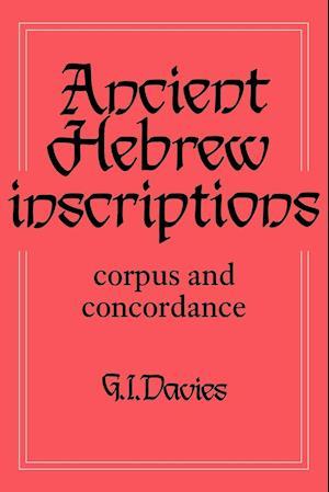 Ancient Hebrew Inscriptions: Volume 1