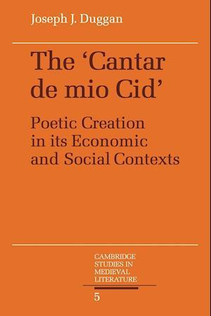 The Cantar de Mio Cid