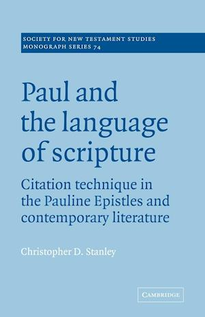 Paul and the Language of Scripture
