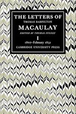 The Letters of Thomas Babington MacAulay af Thomas Babington Macaulay, Thomas Pinney