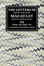 The Letters of Thomas Babington MacAulay af Thomas Babington Macaulay, Thomas Pinney