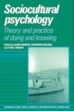 Sociocultural Psychology af Laura Martin, Katherine Nelson, Ethel Tobach