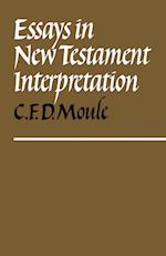 Essays in New Testament Interpretation