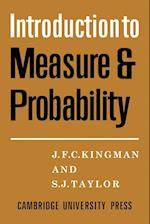 Introdction to Measure and Probability af J. F. C. Kingman, S. J. Taylor
