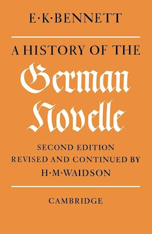 A History of the German Novelle