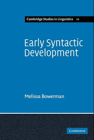 Early Syntactic Development