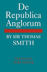 De Republica Anglorum af Mary Dewar, Thomas Smith
