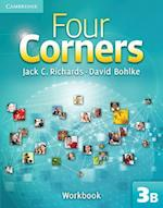 Four Corners Level 3 Workbook B (Four Corners Level 3 Full Contact B with Self study CD ROM)