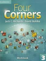 Four Corners Level 3 Workbook (Four Corners Level 3 Full Contact with Self study CD ROM)