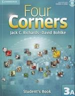 Four Corners Level 3 Student's Book A with Self-study CD-ROM (Four Corners Level 3 Full Contact A with Self study CD ROM)