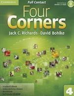 Four Corners Level 4 Full Contact with Self-study CD-ROM