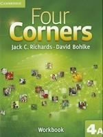 Four Corners Level 4 Workbook A (Four Corners Level 4 Full Contact A with Self study CD ROM)