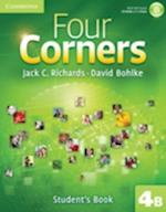 Four Corners Level 4 Student's Book B with Self-study Cd-rom (Four Corners Level 4 Full Contact B with Self study CD ROM)