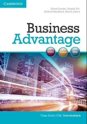 Business Advantage Intermediate Audio CDs (2)