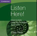 Listen Here! Intermediate Listening Activities CDs (Georgian Press)