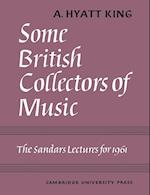 Some British Collectors of Music C.1600-1960