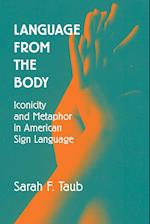 Language from the Body