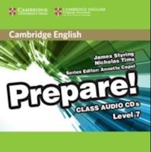 Cambridge English Prepare! Level 7 Class Audio CDs (3)