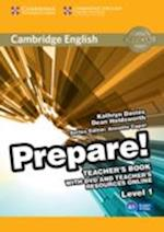 Cambridge English Prepare! Level 1 Teacher's Book with DVD and Teacher's Resources Online af Kathryn Davies