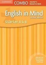English in Mind Starter A and B Combo Teacher's Resource Book