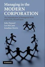 Managing in the Modern Corporation af Leo McCann, John Hassard, Jonathan Morris