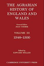 The Agrarian History of England and Wales: Volume 3, 1348-1500 af Edward Miller
