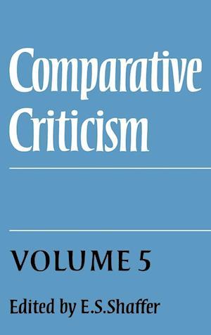 Comparative Criticism: Volume 5, Hermeneutic Criticism