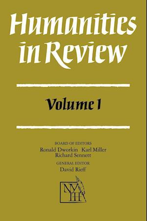 Humanities in Review: Volume 1