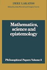 Mathematics, Science and Epistemology: Volume 2, Philosophical Papers af John Worrall, John Worral, Imre Lakatos