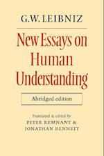 New Essays on Human Understanding Abridged Edition af Peter Remnant, Jonathan Bennett, G W Leibniz