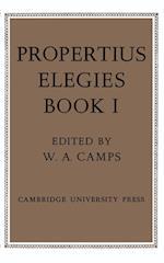 Propertius: Elegies: Book 1 af Propertius, Sextus Propertius