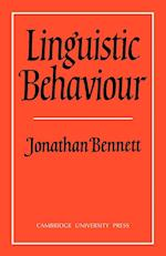 Linguistic Behaviour af Jonathan Bennett