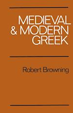 Medieval and Modern Greek af Robert Browning
