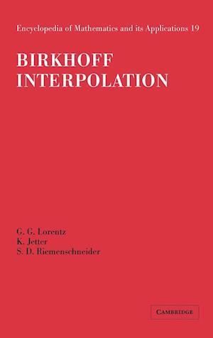 Birkhoff Interpolation