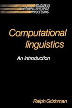 Computational Linguistics (Studies in Natural Language Processing)