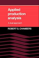 Applied Production Analysis: A Dual Approach