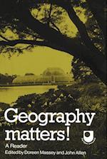 Geography Matters! af John Allen, Christopher Hamnett, Susan Cunningham