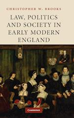 Law, Politics and Society in Early Modern England af Christopher W. Brooks