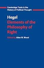 Hegel: Elements of the Philosophy of Right af Quentin Skinner, Georg Wilhelm Friedrich Hegel, Raymond Geuss