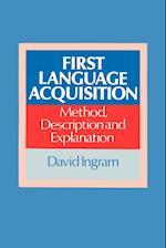 First Language Acquisition af David Ingram