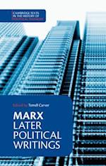 Marx: Later Political Writings af Karl Marx, Terrell Carver