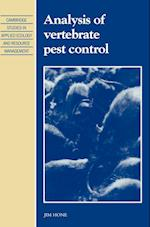 Analysis of Vertebrate Pest Control (Cambridge Studies in Applied Ecology & Resource Management)