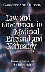 Law and Government in Medieval England and Normandy