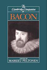 The Cambridge Companion to Bacon af Markku Peltonen