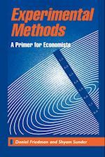 Experimental Methods af Daniel Friedman, Shyam Sunder