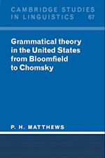 Grammatical Theory in the United States (Cambridge Studies in Linguistics, nr. 67)