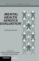 Mental Health Service Evaluation (Studies in Social Community Psychiatry)