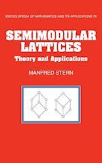 Semimodular Lattices (ENCYCLOPEDIA OF MATHEMATICS AND ITS APPLICATIONS, nr. 73)