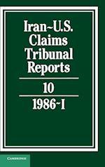 Iran-US Claims Tribunal Reports: Volume 10 (Iran-U.S. Claims Tribunal Reports)