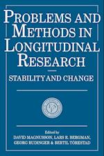 Problems and Methods in Longitudinal Research (Problems Methods in Longitudinal Research, nr. 5)